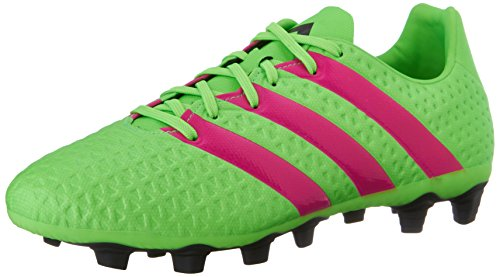 adidas Performance Men's Ace 16.4 FG/AG Soccer Shoe,Shock Green/Shock Pink/Black,8.5 M US - Football Shoes Ag