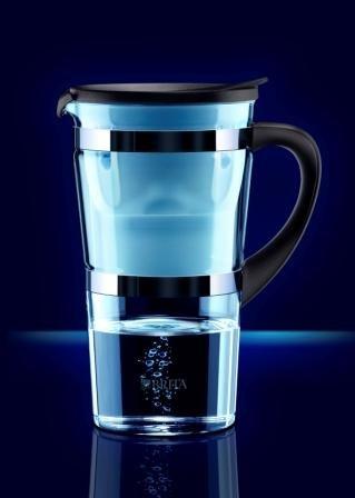 brita wasserfilter glas
