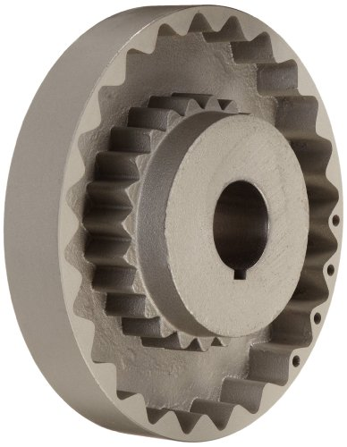 MARTIN 11S 1 3/4 Quadraflex Coupling Flange, Cast Iron, I...