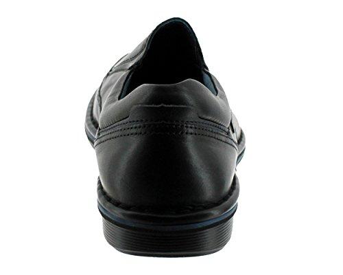 Pikolinos, Lugo-3066 M1F, Homme, mocassin noir lisse