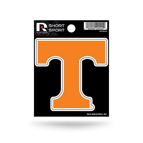 Rico Industries NCAA Tennessee Volunteers Die Cut Team Logo Short Sport Sticker