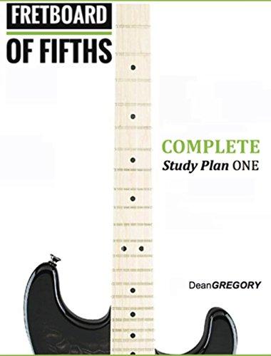 FRETBOARD of FIFTHS:  Undiminished Study Plan ONE: Blues, Rock, & Jazz Combined Study Plans