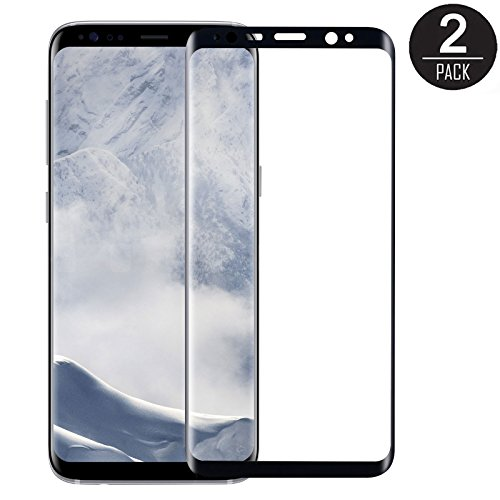 ... For Samsung Galaxy S8 Plus, 3D Curved Edge, Anti Scratch,Crystal Clear