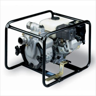 Tsurumi EPT3-50HA Engine Driven Trash Pump with Low Oil Sensor, 2'', 5.5 HP by Tsurumi