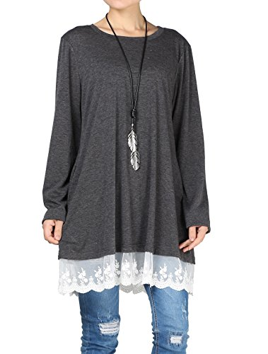 Matchlife Gris Mujer Para Camisas Oscuro YrqYpy