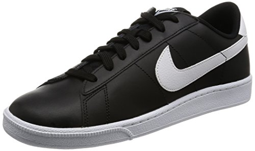 Nike Tennis Classic Cs, Zapatillas de Tenis para Hombre Multicolor (Black/white)