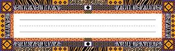 Africa Classroom Desk Tag