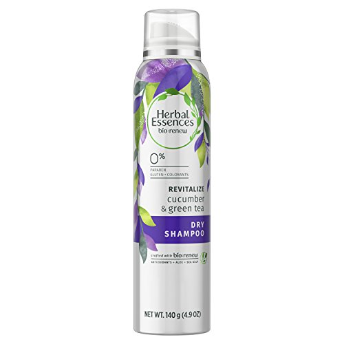 Herbal Essences Bio:Renew Cucumber & Green Tea Dry Shampoo, 4.9 oz