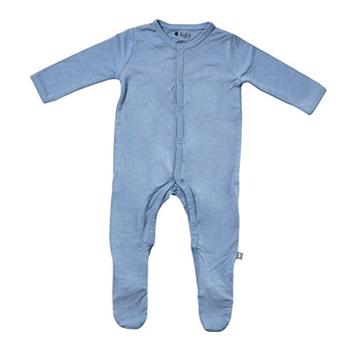 Kyte BABY Footies - Baby Footed Pajamas Made of Soft Organic Bamboo Material - 0-24 Months - Solid Colors (3-6 Months, -
