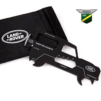 Land Rover New Genuine Defender Handy Practical Wallet Sized Multi Tool Multitool 51LDTT619NVA