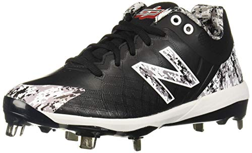 - New Balance Men's 4040v5 Metal Baseball Shoe, Pedroia CAMO/Black, 5 W US
