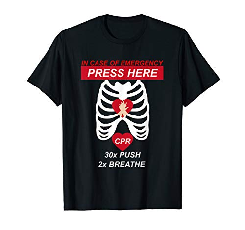 Cpr Instructor TShirt First Aid For Men, Women and -