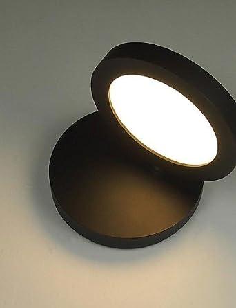 Diseño moderno Tocadiscos de 350 ° LED lámpara de pared Proteger ...