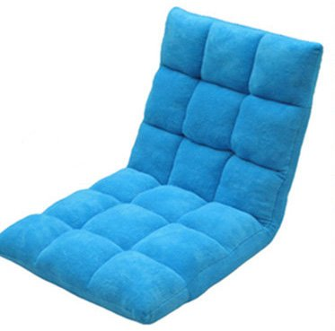 Generation Folding 9 Colors Floor Chair Sofa Home Essential/lovers Folding Sofa a Lazy Man Sofa /Normal Version (Blue)