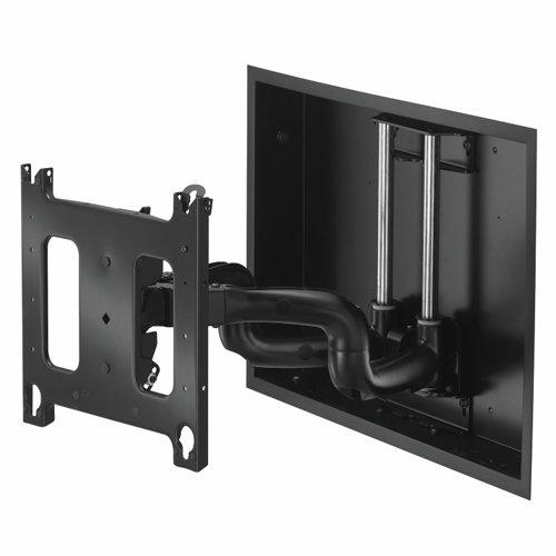 Chief PNRIWUB Universal Flat Panel Dual Swing Arm Wall Mount (Black) (Panel Dual Swing Flat)