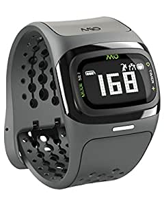 Mio ALPHA 2 Heart Rate Watch + Activity Tracker, Regular/Long Strap, black