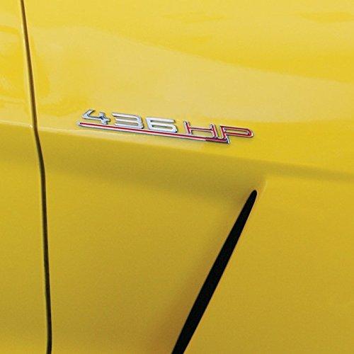Billet Badge (West Coast Corvette / Camaro HorsePower (HP) Billet Chrome Badge - Kit (#1))