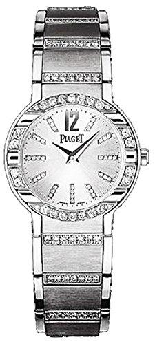 Piaget Piaget Polo Plata Dial Blanco Oro Diamante Damas Reloj G0A33233: goldia: Amazon.es: Relojes