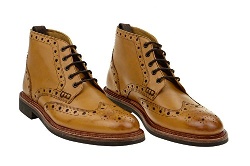 Gordon & Bros Men's Gordon & Bros Harry 5039A Brogue Brown - BROWN zPSoiTaglI