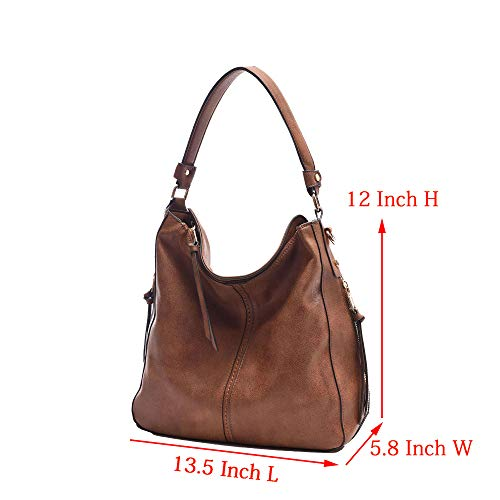 Bag Brown08 Bags Shoulder Girls Hobo Leather Tote For Vintage Handbags Bucket Women Messenger Ladies DDDH Durable Bags WaqxwAPtn