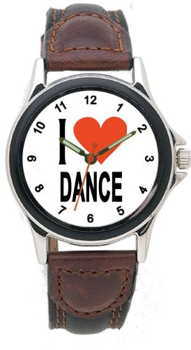 Music Treasures Aristocrat I Love Dance Watch by Music Treasures Co.