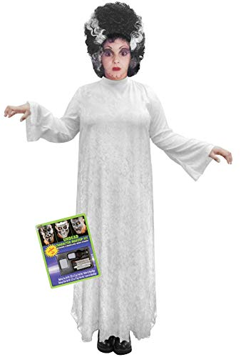 Bride of Frankenstein Plus Size Halloween Costume Deluxe Kit 6X -
