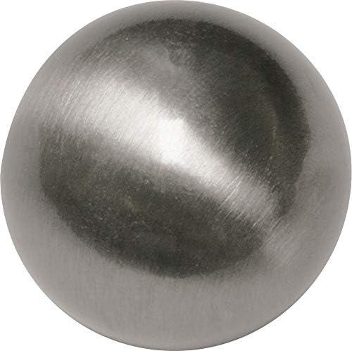 Edelstahl Stainless/_Steel Gardinia Endknopf /Ø 12 mm