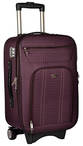 Trekker Polyester Matty 62 cms Purple Softsided Check in Bag  TTB CRETA24 PL
