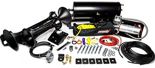 Kleinn Air Horns RAMHD-734 Black RAM HD Onboard Air System (with Model 230 Train Horn) -