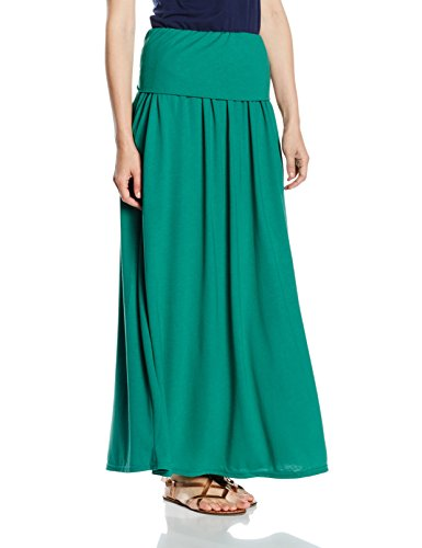 HotSquash Luxury Roll Top Maxi, Falda para Mujer Green (Lawn)