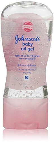 JOHNSON'S Baby Oil Gel 6.50 oz (Pack of 10) by Johnson's