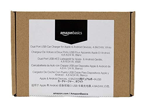 AmazonBasics car charger