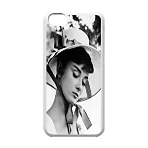 Custom High Quality WUCHAOGUI Phone case Movie & TV Super Star Audrey Hepburn Protective Case For iphone 4/4s iphone 4/4s - Case-7