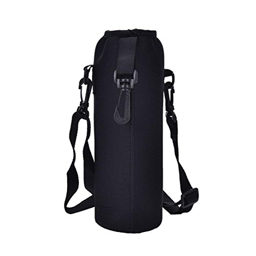 Iusun 1000ML Water Bottle Carrier Insulated Cover Bag Holder