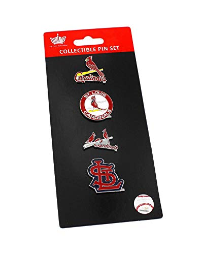 St. Louis Cardinals Logo Evolution Pin Set