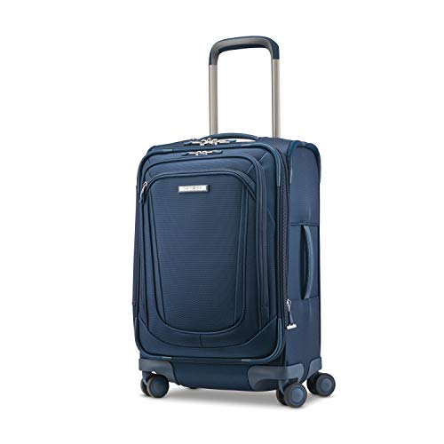Samsonite Silhouette 16 Expandable Spinner Carry On (Evening Teal)