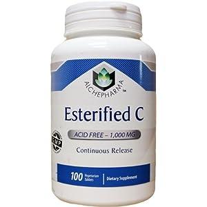 AlchePharma Esterified C 1000 Mg Continuous-Release.