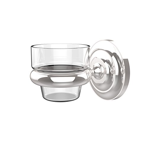 Allied Brass PQN-64-PC Prestige Que Wall Mounted Votive Candle Holder, Polished Chrome