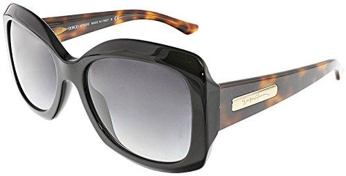 Giorgio Armani Sunglasses AR 8002 BLACK 5017/8G - Sunglasses Womens Giorgio Armani