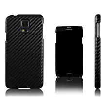 Xcessor Carbon Fibre Case for Samsung Galaxy S5 i9600. (Compatible with All Samsung Galaxy S5 Models). Black