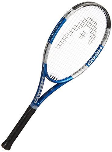 HEAD 2017 Liquidmetal 4 Tennis Racquet, Strung, 4 1/8 Inch Grip