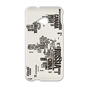 Fashion Unique Special White htc m7 case