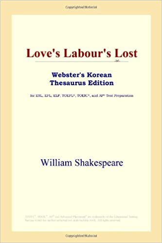 As You Like It (Websters Korean Thesaurus Edition)