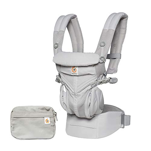 Ergobaby-Omni-360-All-Position-Baby-Carrier-for-Newborn-to-Toddler-with-Lumbar-Support-and-Cool-Air-Mesh-7-45-Pounds-Pearl-Grey