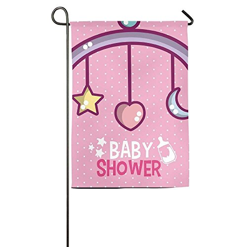 amuseds Baby Shower Garden Flag Yard Decorations Flag For Ou