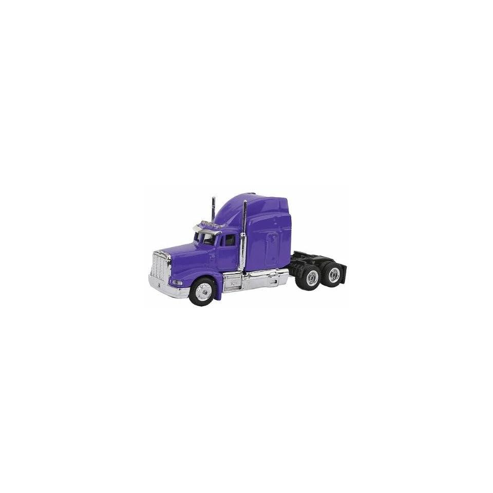 20102 1/87 Peterbilt Semi Truck Cab Purple HO Toys & Games