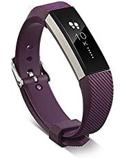 TERSELY Band for Fitbit Alta & Alta HR, Classic Soft TPU Silicone Unisex Adjustable Sports Bands Fitness Exercises Workout Sport Strap for Fitbit Alta & Alta HR Wristband