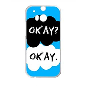 Okay? Okay Fahionable And Popular Back Case Cover For HTC One M8