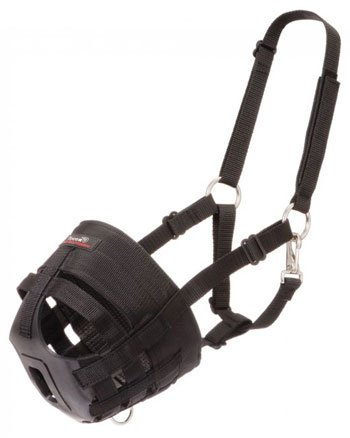 Grazing Pony - Tough-1 Easy Breathe Poly/Grazing Muzzle Mini