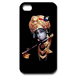 Popular Lord Krishna New Style Durable Iphone 4,4s Case Hard iPhone Cover Case